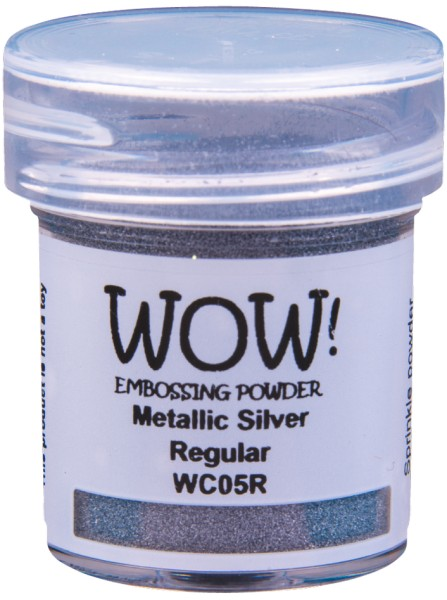 WOW! Embossingpulver - Metallic Silver