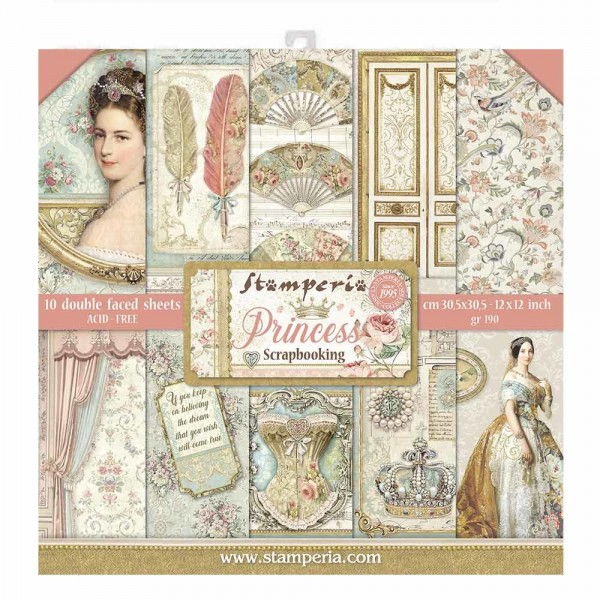 Stamperia - Princess - Paper Pad